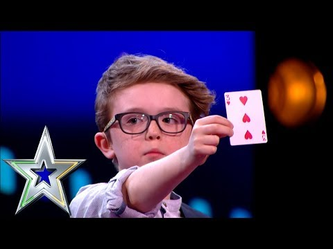 9 Year Old Magician Aidan Wins Over The Judges! | Ireland's Got Talent
