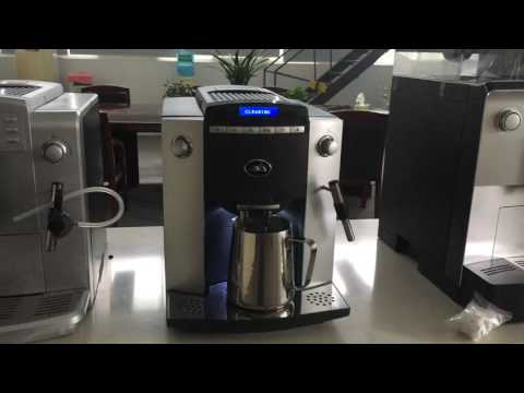 How to clean JAVA coffee machine with cleaning tablet