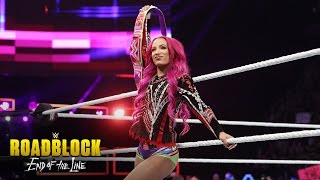 Nonton Sasha Banks and Charlotte Flair are ready for the WWE Iron Man Match: WWE Roadblock: End of the Line Film Subtitle Indonesia Streaming Movie Download