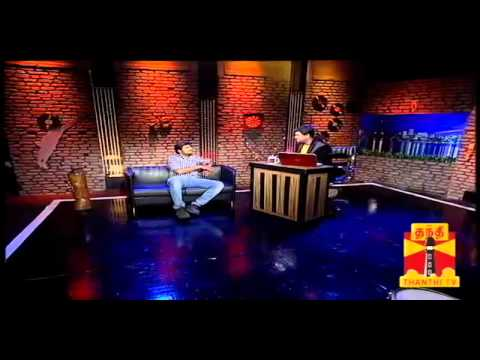 Thenali Darbar   Actor Satish 19 09 2013 Thanthi TV