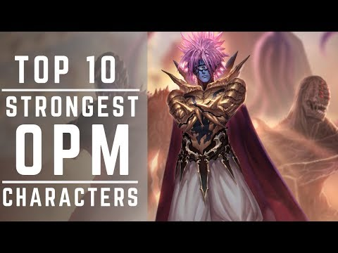 Top 10 Most Powerful One Punch Man Characters