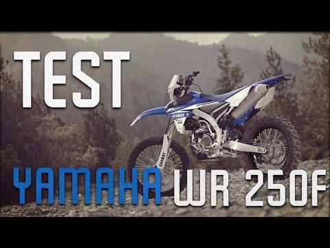 Yamaha WR250F Enduro - TEST !