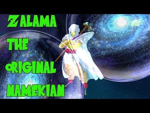 Dragon God Zalama is the Original Namekian - Origin of Namekians   (Dragonball theory)
