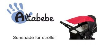 Altabebe Sunshade for Stroller or Pram AL7010 – Instruction Video