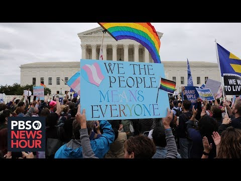 Supreme Court weighs whether LGBTQ workers are protected from discrimination