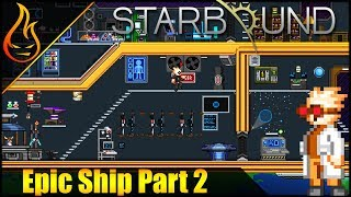 In this Starbound video, we build an epic ship in which you get to take part in. ▻Shop: https://shop.spreadshirt.com/Firespark81 ...