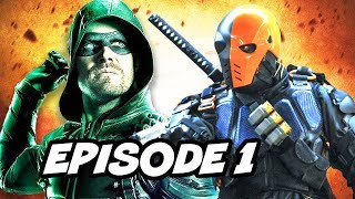 Arrow Season 6 Episode 1 - TOP 10 WTF and Comics Easter Eggs