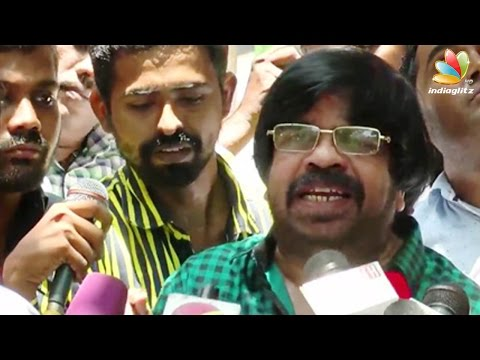 T-Rajendar--I-am-ready-to-fight-for-Kaveri-water-Issue-Latest-Speech