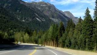 Revelstoke (BC) Canada  city images : Revelstoke to Golden, British Columbia on Trans Canada 1 - time lapse drive