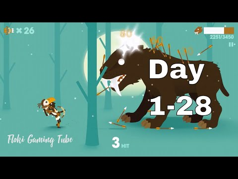 Big Hunter The Smilodon Story Day 1-28 : Cool Games for Boys 2018 ( Android & ios )