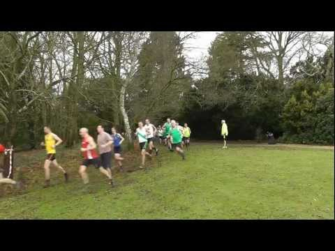 Windle Valley Runners - Bearwood College Cross Country, 23rd December 2012