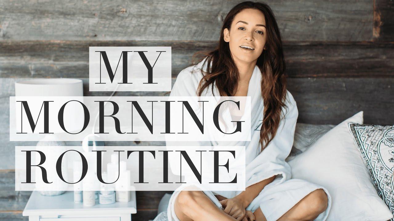 MY MORNING ROUTINE | DANIELLE PEAZER | AD