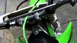 6. My 2005 Kawasaki Kx100