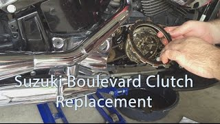 7. Suzuki Boulevard C50 C90 M50 M109 Clutch Replacement