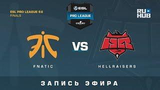 Fnatic vs Hellraisers - ESL Pro League Finals - de_inferno [yXo, Enkanis]
