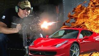 Helicopter Minigun vs Car: The Breakdown