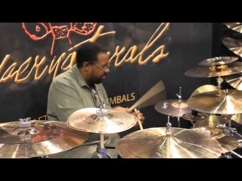 Namm 2013 Supernatural Cymbals Marvin Smitty Smith