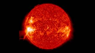 Download video youtube - NASA | SDO Lunar Transit, Prominence Eruption, and M-Class Flare