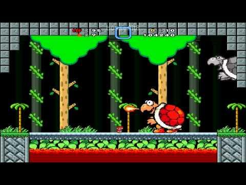 Super Mario Bros. X (SMBX) - Bowsers Infernal Rush (boss Rush 5.0)
