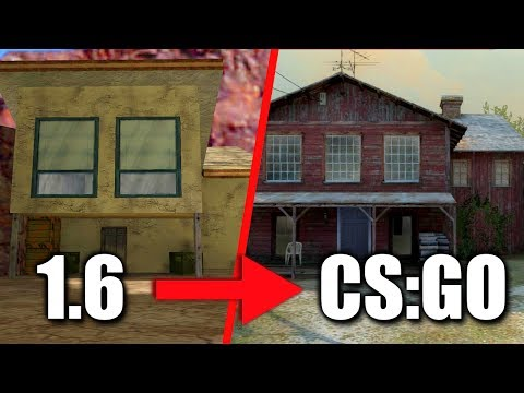 cs_militia - from 1.6 to CS:GO - Map Development History #18