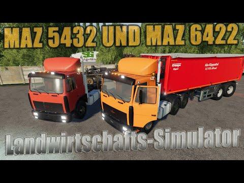 MAZ 5432 and MAZ 6422 v1.0.0.2