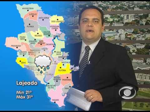 Vídeo Previsão do tempo 03 02 2016