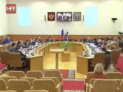 Дума Великого Новгорода провела внеочередное заседание