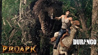 """Durango: Wild Lands by NEXON Company (ANDROID/iOS/iphone/ipad)►►► SUBSCRIBE PROAPK FOR MORE GAMES : http://goo.gl/dlfmS0 ◄◄◄Durango: Wild Lands Closed Beta Test is now available! Join the world in advance to experience a massive sandbox open-world to explore, craft, build, battle, and more!* Gameplay/Account data will be deleted after the Closed Beta Test endsDurango is the next evolution of fully-featured MMO experiences on mobile, nominated as E3's """"Best Mobile/Handheld of 2017"""" at Game Critics Awards, giving you full freedom to roam and choose your own gameplay, all while meshing unique exploration and city building experiences with real-time collaborative and head-to-head battles against enemy clans and colossal dinosaurs.Warped from your world into Durango, discover the rich primitive environment intermixed with transported modern-day items. To survive, you must source both modern and local resources around you. Embrace your inner pioneer to explore, cultivate, and evolve the vast and dangerous wilderness of Durango by choosing your own path to interact with the virtual world and other players!Make the world of Durango your own, while following well-designed key features!# Learn how to survive in the world of Durango# Settle down in Tamed and Civilized Islands -- gather, hunt, craft, cook, farm, build, and trade to manage your domain and assets # Explore unstable islands filled with valuable resources, tamable dinosaurs, and secrets # Work together to create a clan and expand a village. Hunt down great dinosaurs in Raid islands and engage in PvP and Clan battles# Conquer Savage Islands to gather better resources and battle enemy clans for control over the ever-expanding world# Discover unlimited number of islands with various environments and more elaborated contentsDOWNLOADApp Store: Coming soonPlay Store: https://play.google.com/store/apps/details?id=com.nexon.durangoTotal Size : 0.98 GB✔ LOOKING FOR MORE RPG GAMES?  ►►► https://goo.gl/wqCfuv ◄◄◄►►► MMORPG Pl"""