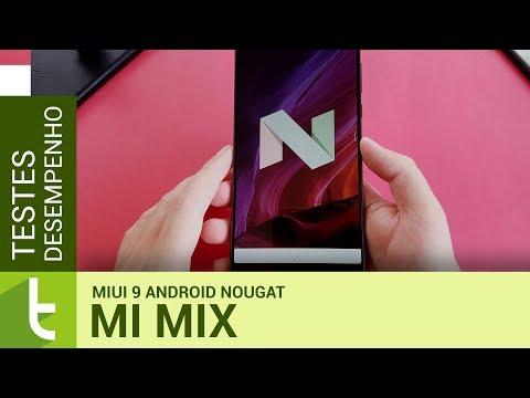 Tudocelular - MIUI 9 com Android Nougat não trouxe sistema mais rápido  para o Mi Mix #desempenho