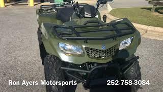 4. 2018 Suzuki KingQuad 400FSi