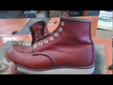HOW TO CLEAN RED WING LEATHER BOOTS