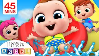Video Playtime at the Waterpark | Playground Song | Little Angel Nursery Rhymes MP3, 3GP, MP4, WEBM, AVI, FLV Juni 2019