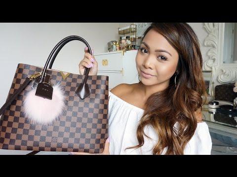What's in my bag! | Louis Vuitton Kensington | Charmaine Dulak