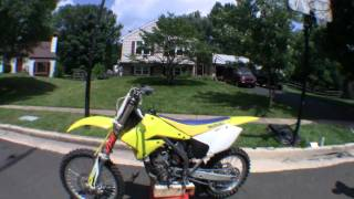 9. FOR SALE 2006 SUZUKI RMZ250