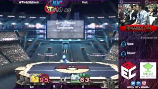 Dismantle: JZ (Ivy) vs. Axe (Marth/Pika/Falco) pools finals
