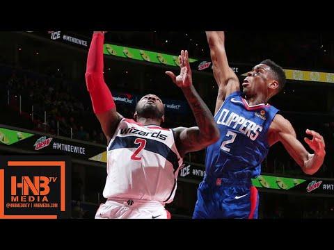 LA Clippers vs Washington Wizards Full Game Highlights   11.20.2018, NBA Season