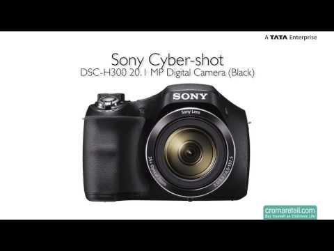 Sony Cyber-shot DSC-H300 20.1 MP Digital Camera (Black)