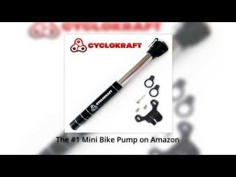 Mini Bicycle Pump – Cyclokraft