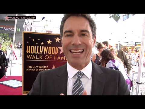 Eric McCormack Walk of Fame Ceremony
