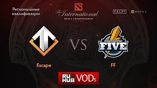 Escape vs Fantastic Five, game 1