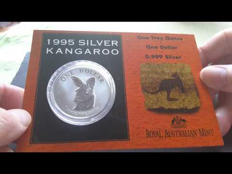 Australia one ounce $1 silver coin