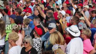 Sanford (FL) United States  city photos : USA: We will suspend Syrian refugee programme - Trump at Sanford, Florida rally