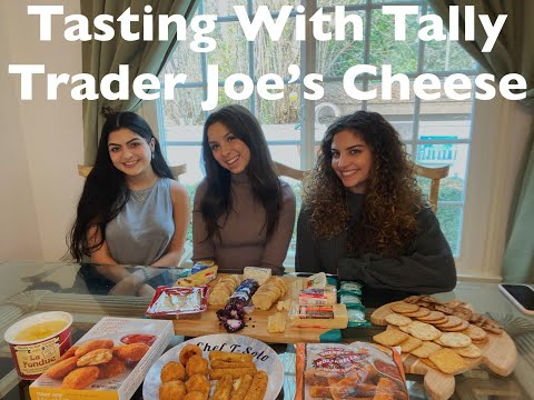 WE TRIED 13 CHEESES FROM TRADER JOE'S