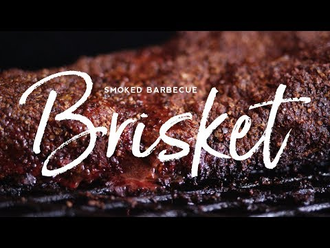 Smoked Barbecue Brisket with Burnt Ends