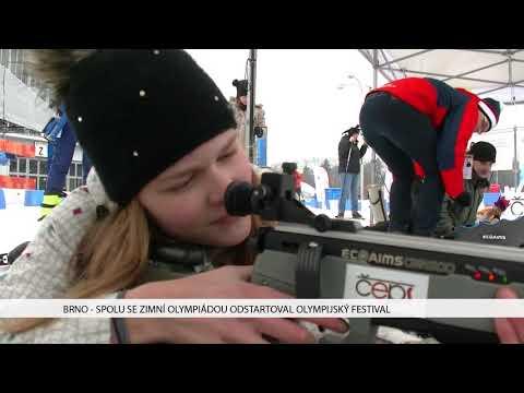 TV Brno 1: 9.2.2018 Spolu se zimní plympiádou odstartoval Olympijský festival.