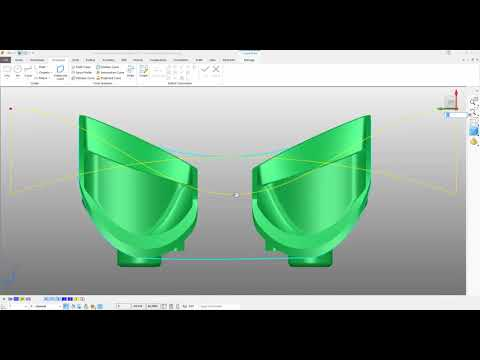 Powershape  - Surface Editing Tools #1