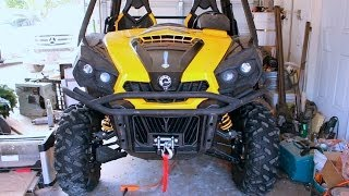 8. Can Am Commander Winch Install