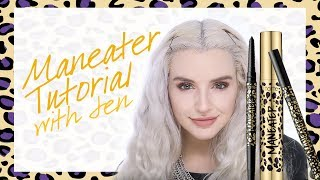 tarte cosmetics maneater tutorial with Jen