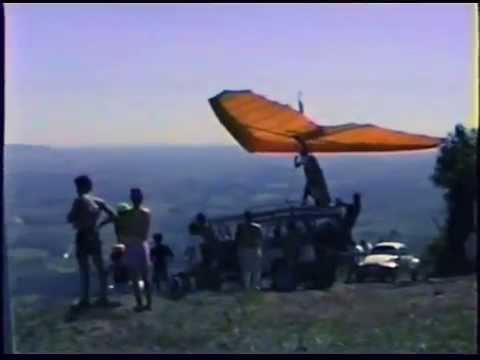 Voo Livre na Torre de Tv em Andradas, antes do Gavião, 1991
