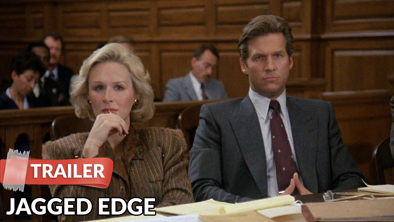 Jagged Edge 1985 Trailer | Jeff Bridges | Glenn Close